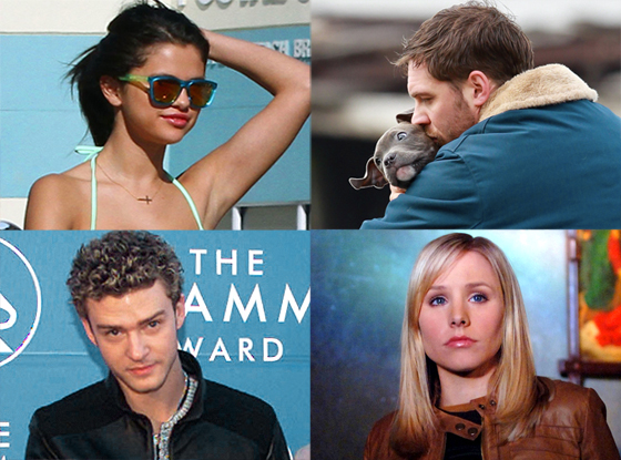 E! Loves, Spring Breakers, Tom Hardy, Justin Timberlake, Veronica Mars