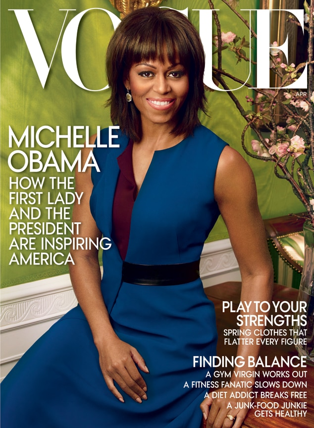 Michelle Obama, April 2013 Vogue Cover