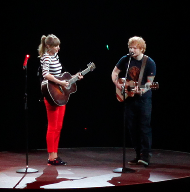 Taylor Swift, Ed Sheeran