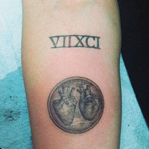 Miley Cyrus, Kat Von D Tattoo