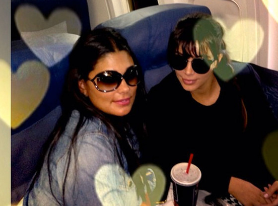 Kim Kardashian, Rachel Roy, Instagram