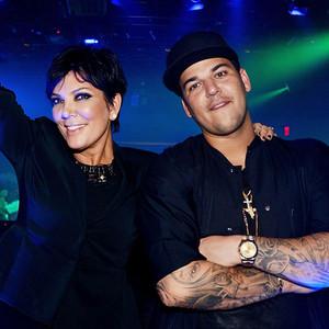 Rob Kardashian, Kris Jenner