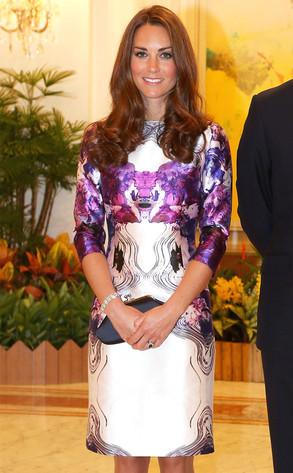 Catherine, Duchess of Cambridge, Kate Middleton, Vibrant Colors