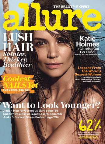 Kate Holmes, Allure Magazine cover