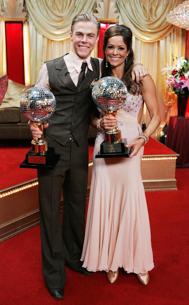 Brooke Burke, Derek Hough, DTWS Winner