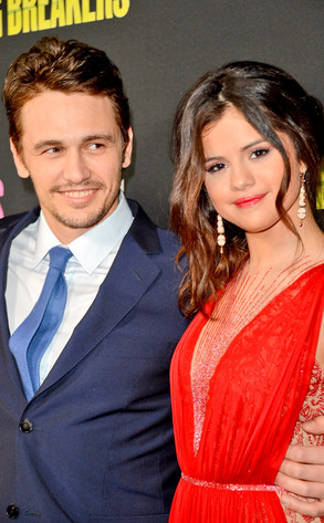 James Franco, Selena Gomez