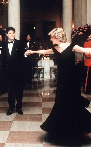Princess Diana, John Travolta
