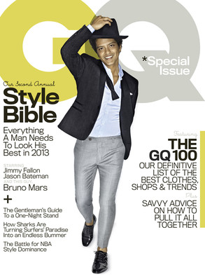 Bruno Mars, GQ Magazine