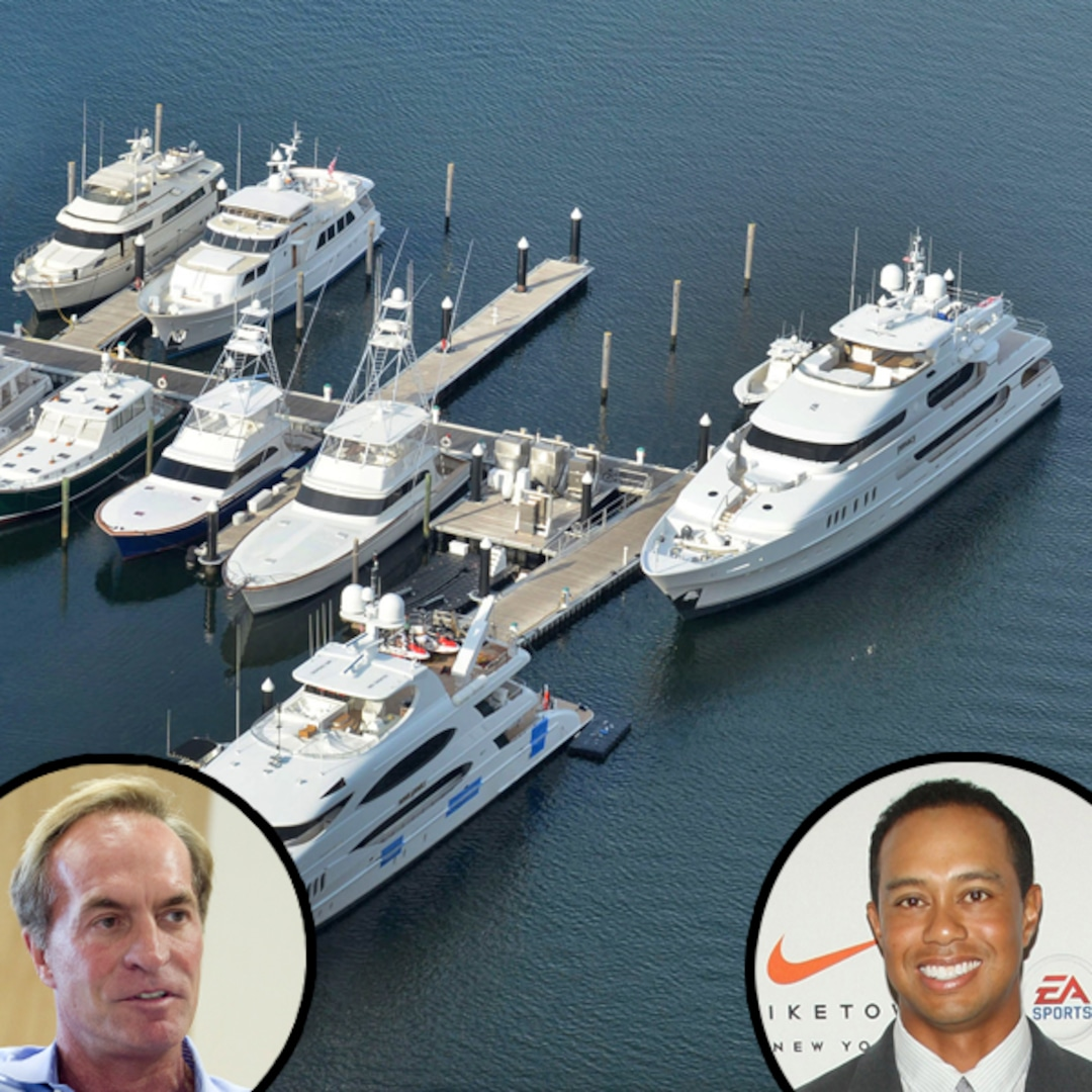 Elin's BF's Yacht Docked Next to Tiger Woods—See Whose Is ...