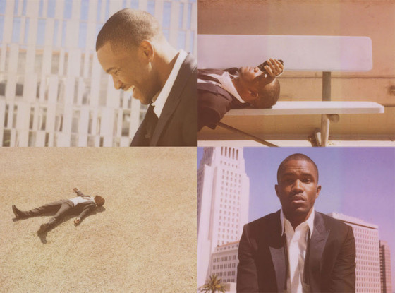 Frank Ocean, Band of Outsiders Polaroid Campaign