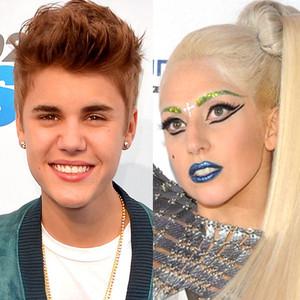 Justin Bieber, Lady Gaga
