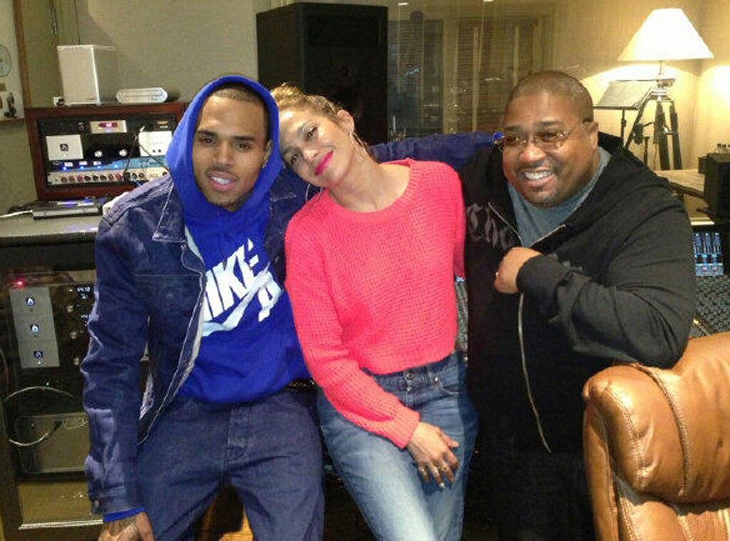 Chris Brown, Jennifer Lopez, Twit Pic