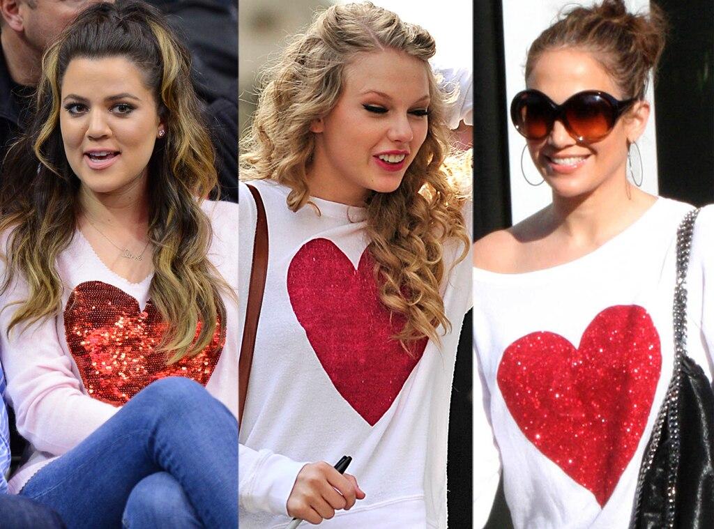 Khloe Kardashian Odom, Taylor Swift, Jennifer Lopez