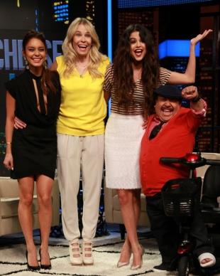 Selena Gomez, Vanessa Hudgens, Chelsea Handler, Chelsea Lately