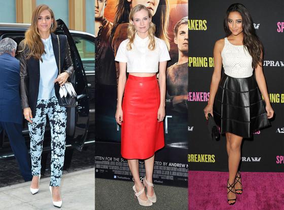 Jessica Alba, Diane Kruger, Shay Mitchell