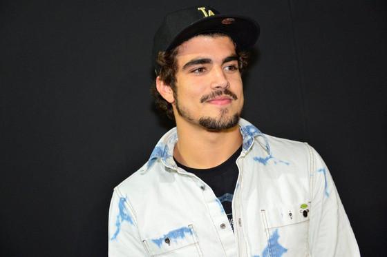 Caio Castro na SPFW