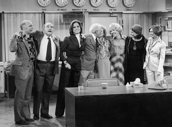 Valerie Harper, Mary Tyler Moore, Cloris Leachman, Georgia Engel, Betty White