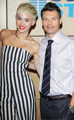 Miley Cyrus, Ryan Seacrest