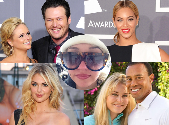 Week in Review, Kate Upton, Tiger, Lindsey, Beyonce, Miranda Lambert, Blake Shelton, Amanda Bynes,