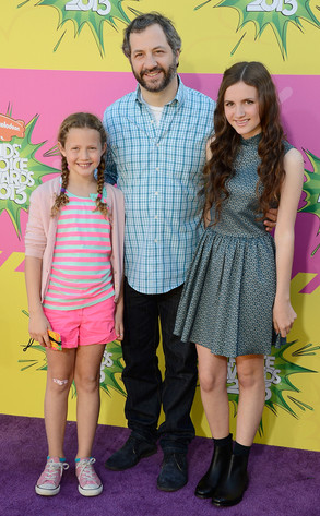 Judd Apatow, Iris Apatow, Maude Apatow, Kids Choice Awards