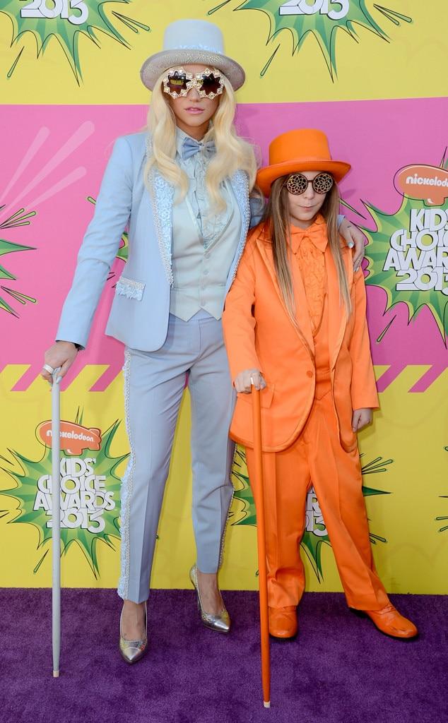 Kesha, Ke$ha, Brother Louis Sebert, Kids Choice Awards