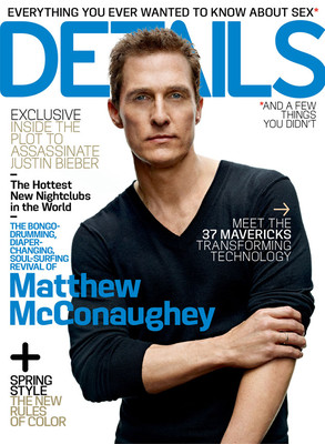 Matthew McConaughey, Details Magazine Cover