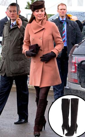 Catherine, Duchess of Cambridge, Kate Middleton, Stuart Weizman Boots