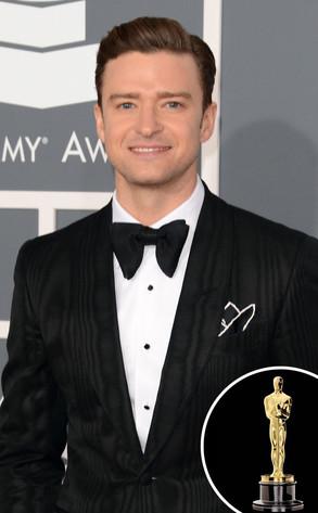 Oscar Statue, Justin Timberlake