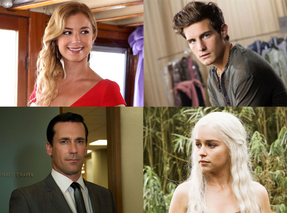 Revenge, The Following, Game of Thrones, Mad Men