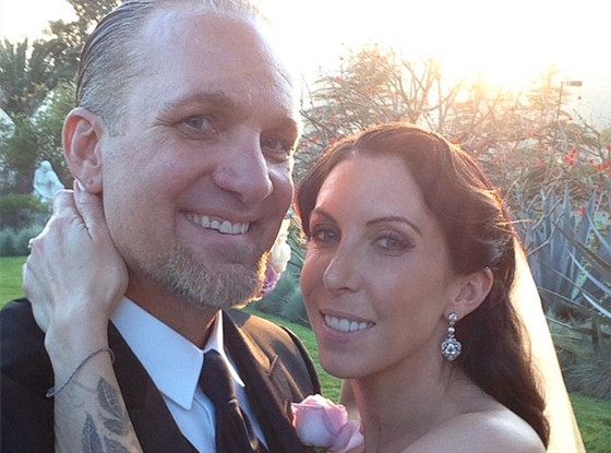 Jesse James, Alexis Dejoria, Wedding