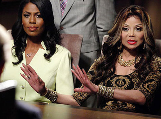 La Toya Jackson, Omarosa, Celebrity Apprentice