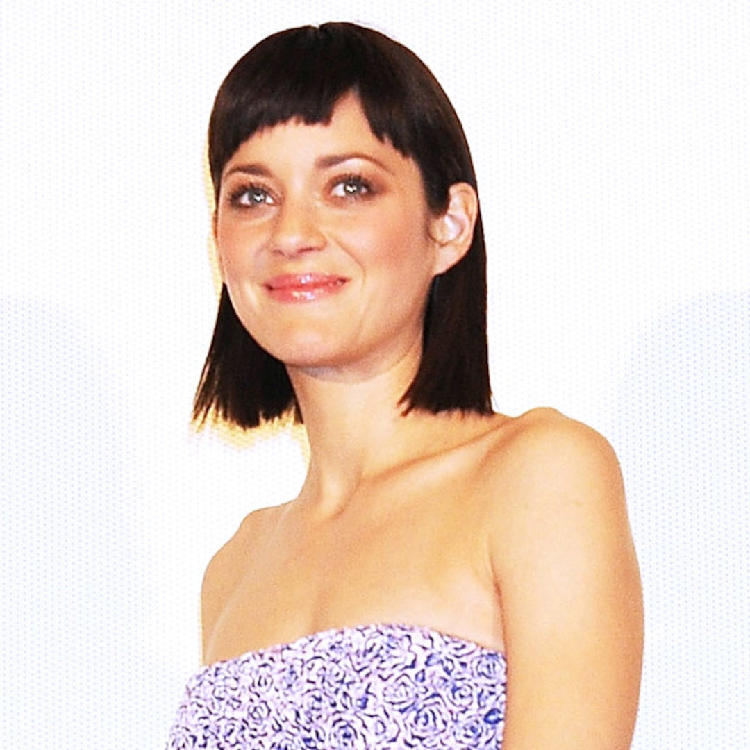 Marion Cotillard Shows Off Edgy New Haircut E Online