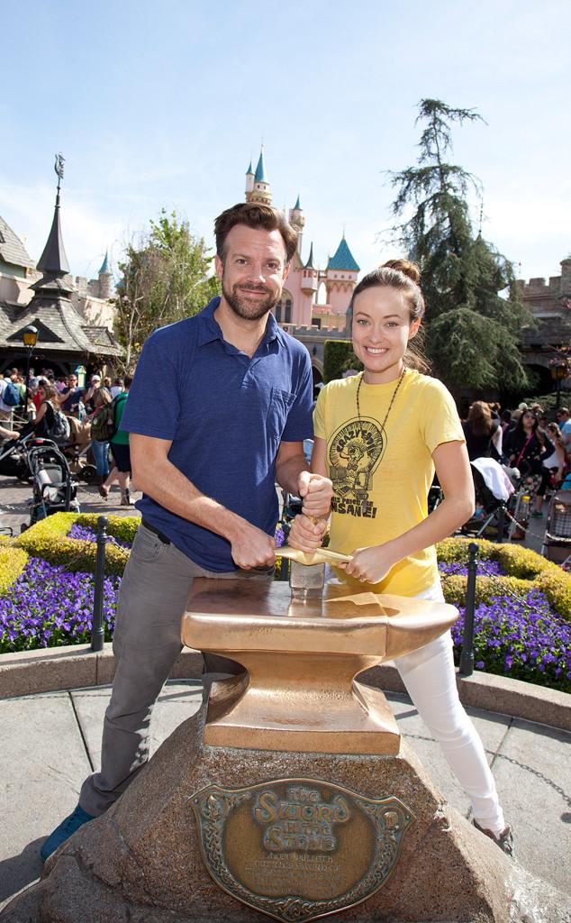 Olivia Wilde, Jason Sudeikis, Disneyland