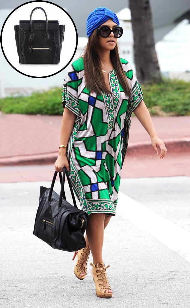 Kourtney Kardashian, Celine Handbag