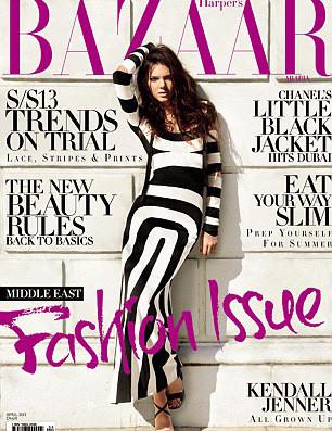 Kendall Jenner, Harper 's Bazaar Arabia