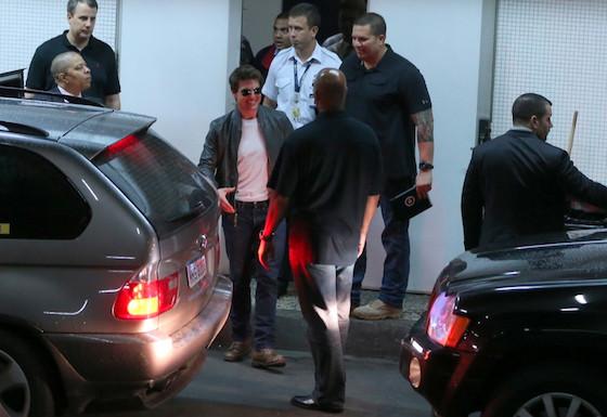 Tom Cruise no Rio
