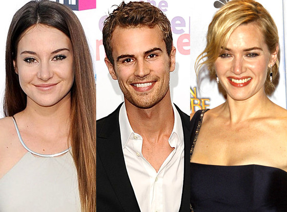 Theo James, Kate Winslet, Shailene Woodley