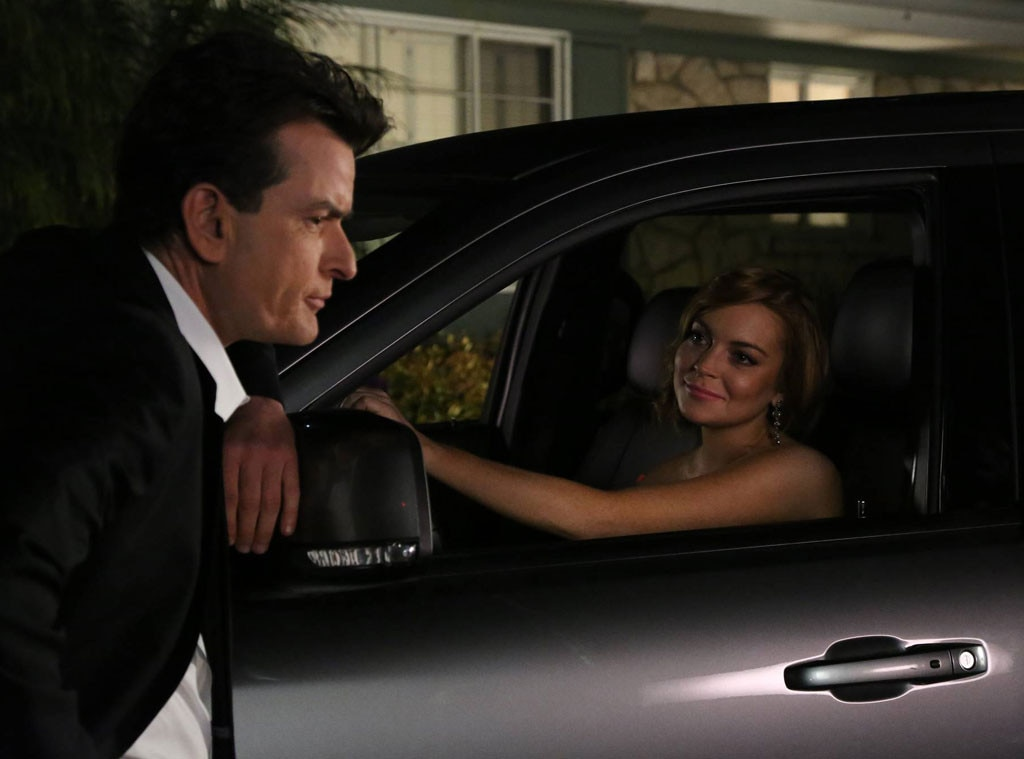 Lindsay Lohan, Charlie Sheen, Anger Management