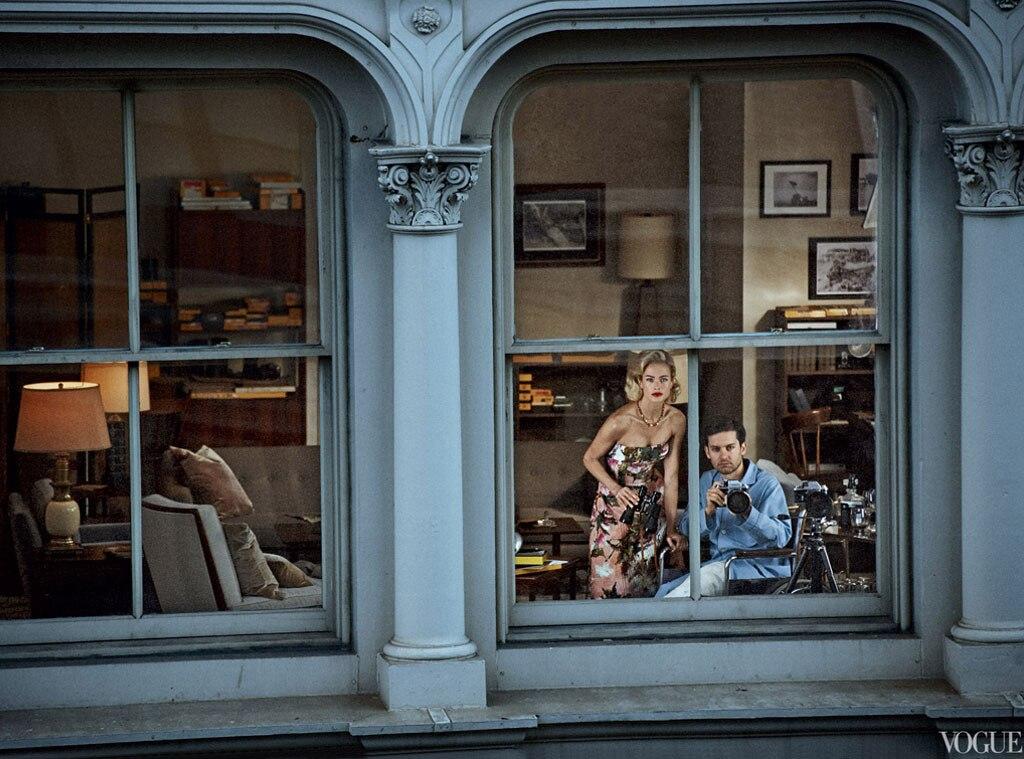 Tobey Maguire, Caroline Murphy, Vogue