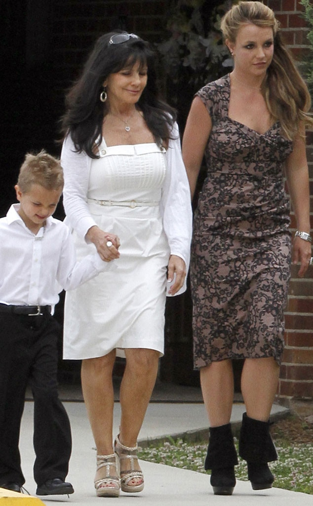 Britney Spears, Lynne Spears, Sean Preston Federline