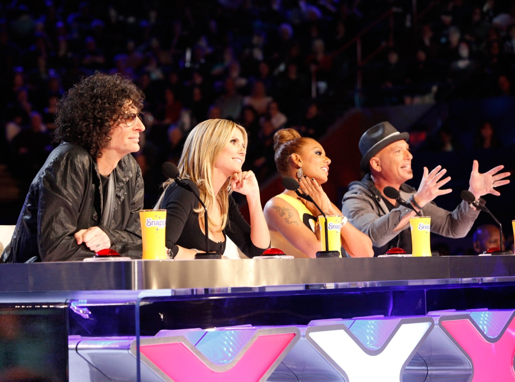 Howard Stern, Heidi Klum, Mel B, Howie Mandel, America's Got Talent
