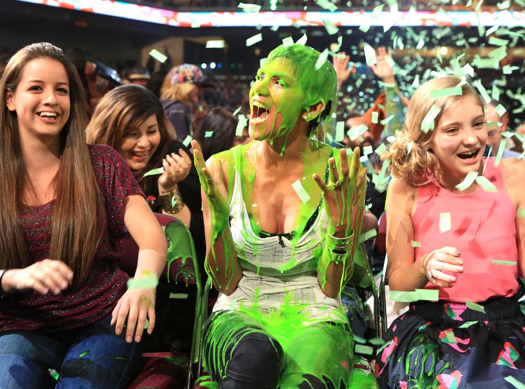 Halle Berry, Slimmed, 2012 Kids Choice Awards, Slime