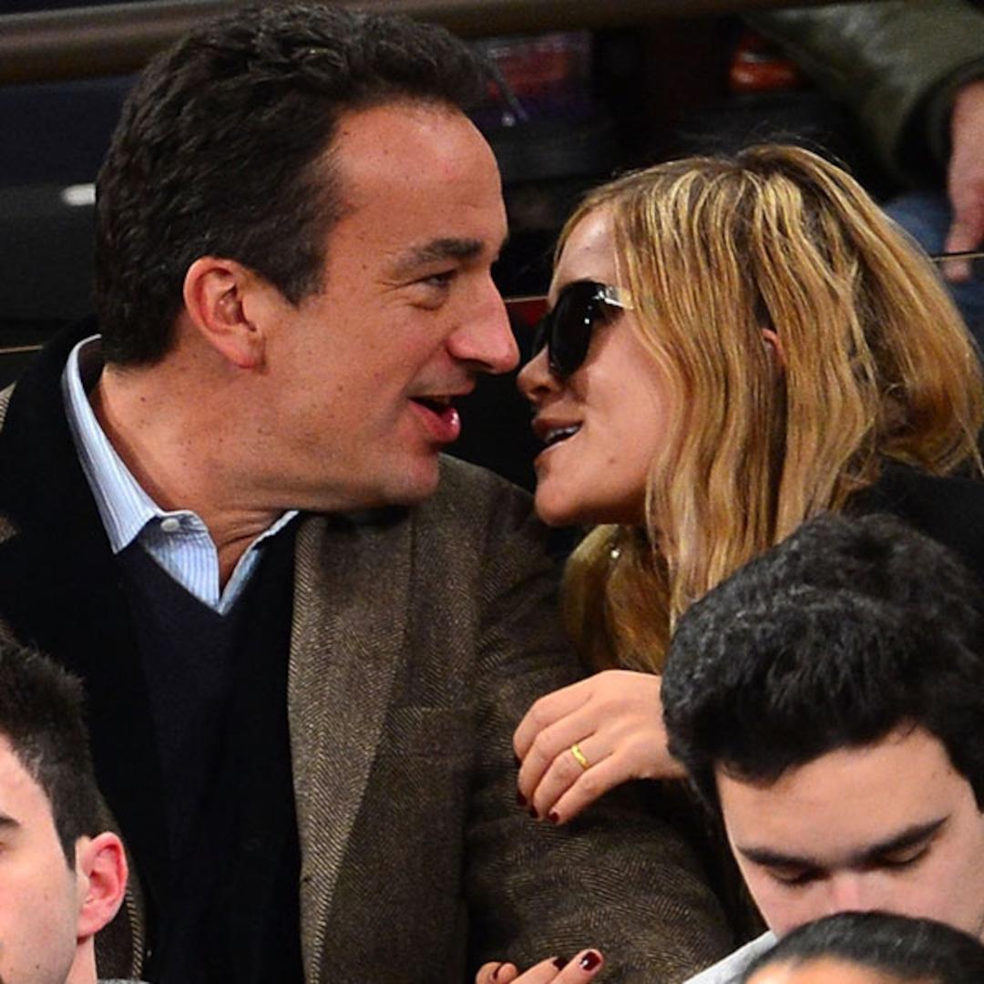 Mary-Kate Olsen and Boyfriend Olivier Sarkozy Cuddle