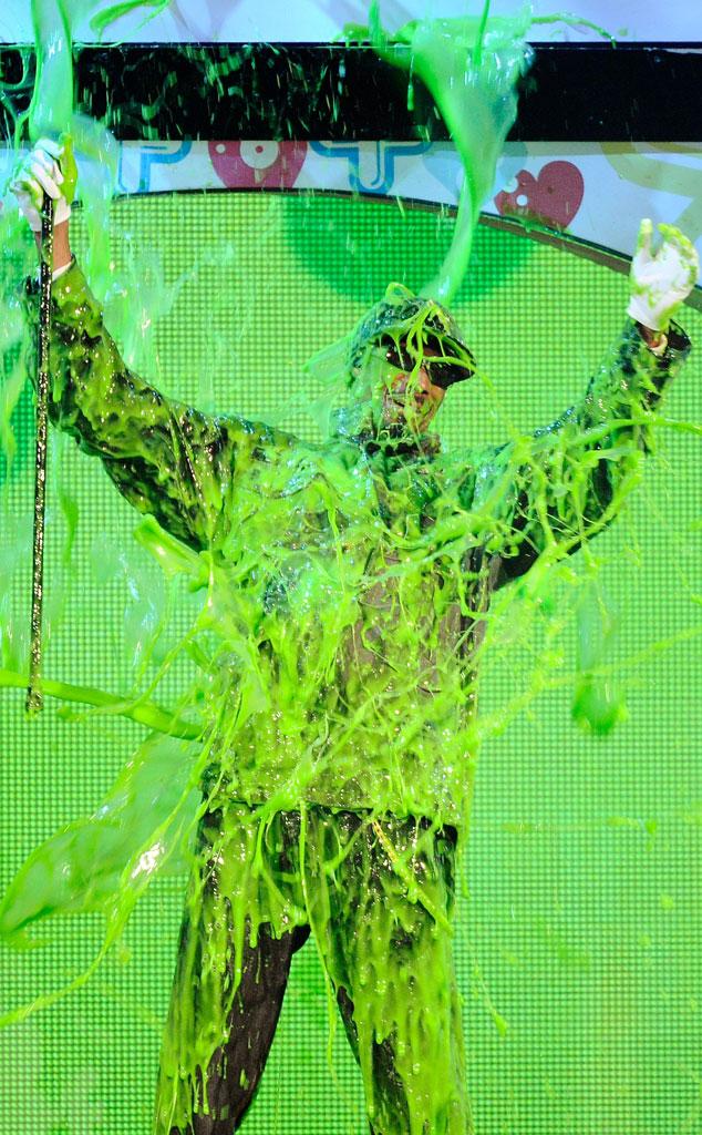 Snoop Dogg, 2011 Kids Choice Awards, Slime
