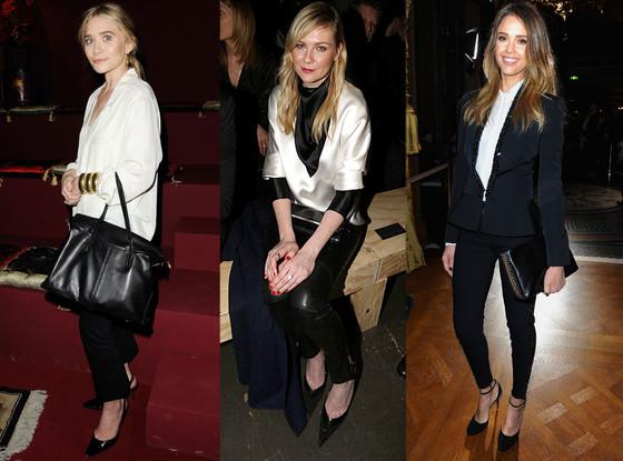 Ashley Olsen, Kirsten Dunst, Jessica Alba