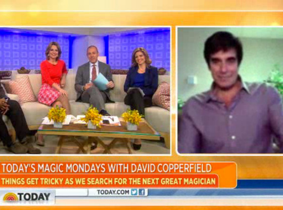 David Copperfield, Today Show