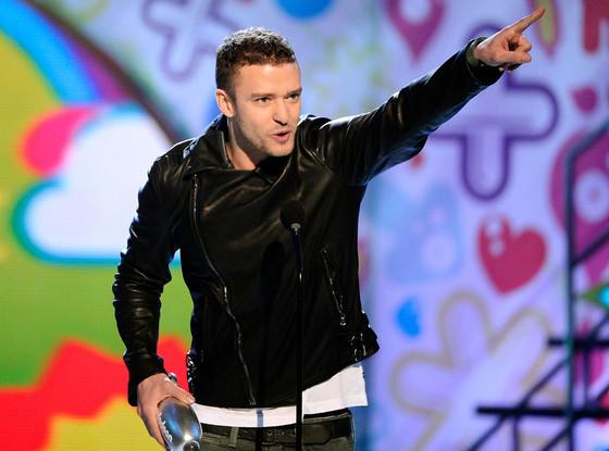 Justin Timberlake, Nickelodeon's 24th Annual Kids' Choice Awards
