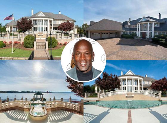 Michael Jordan Home