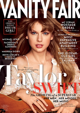 Taylor Swift, Vanity Fair