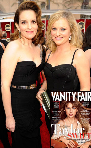 Tina Fey, Amy Poehler, Taylor Swift, Vanity Fair